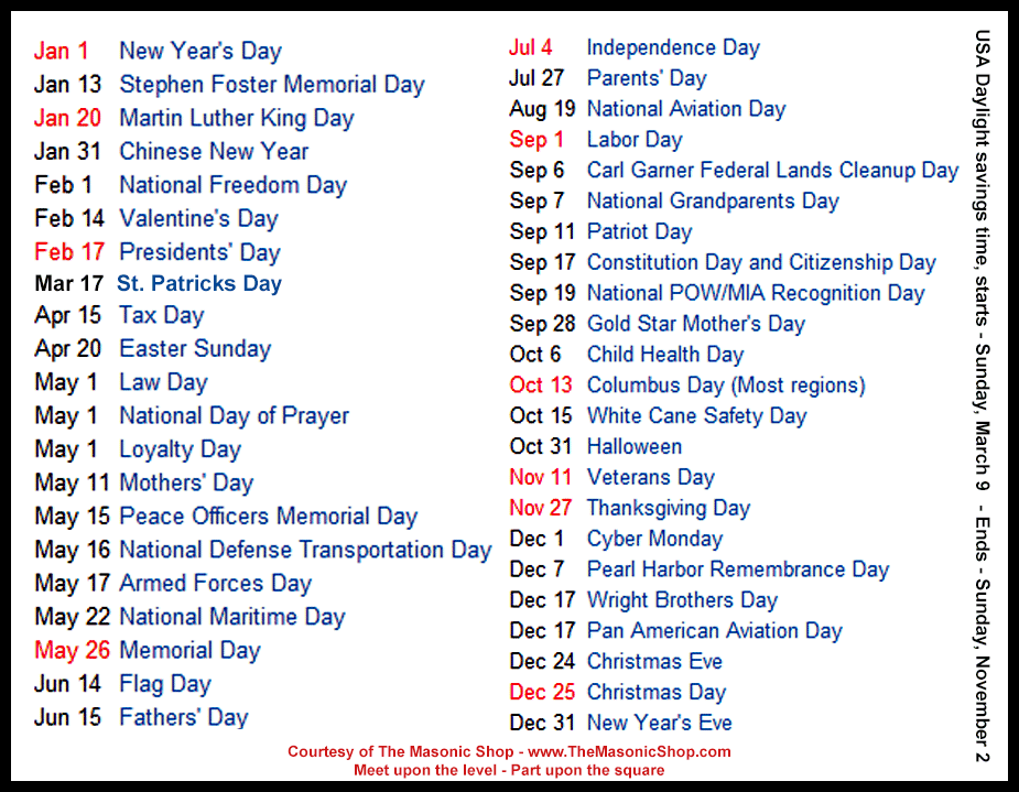 List Of Holidays 2016 Png Pictures to pin on Pinterest
