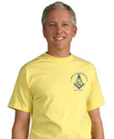 Yellow Masonic T-Shirts