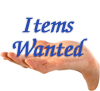 Items Wanted